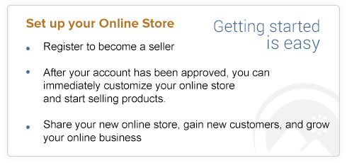 Set-Up Your Online Store