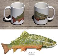 Brook Trout Large 15 oz Mug