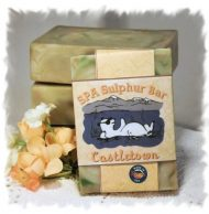 Green Irish Tweed _ Castletown SPA Sulphur Soap