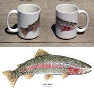 Rainbow Trout Large 15 oz Mug