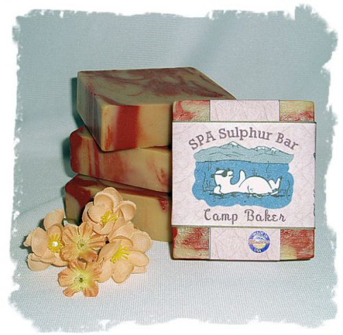 Camp Baker SPA Soap